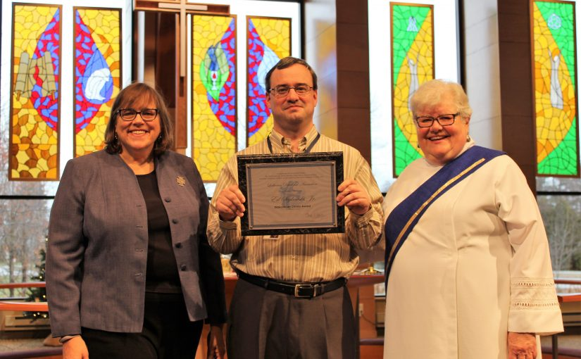 """Ed J. Seykowski honored with """"Diakonia en Christo"""" Award"""